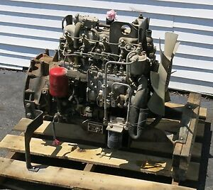 Isuzu C240 4cyl Diesel Engine Motor For Mep 804 B 15kw Military Tqg Generator
