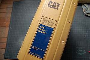 Cat Caterpillar 14h Motor Grader Repair Shop Service Manual Owner Maintenance