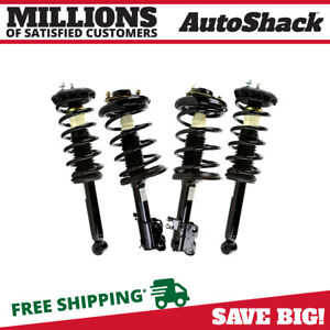 Front Rear Set 4 Complete Strut Assembly W coil Spring Fits 00 01 Infiniti I30