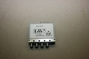 Agilent N1811tl Coaxial Switch 20ghz Opt 020 115 202 401 403 With Warranty