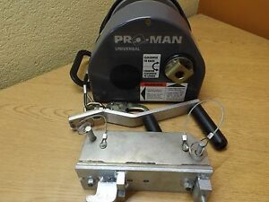 Dbi Sala Pro man Universal Man Rated Confined Space Entry Retrieval Winch
