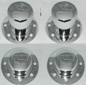 Set Of 4 Dually Only Fits 19 5 8x225mm Eagle Alloys Wheel Center Caps 3119 3120