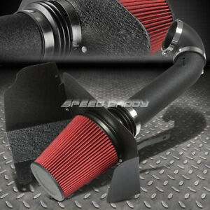 Wrinkle Coat Aluminum 3 5 Cold Air Intake Heat Shield Silverado Sierra Avalanche
