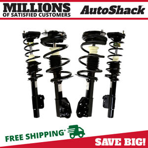 Front And Rear Complete Strut For 1999 2005 Pontiac Grand Am 1998 2003 Malibu
