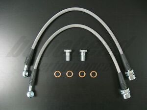 Techna Fit Stainless Steel Braided Brake Lines 1999 2004 Ford Mustang Cobra