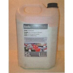 Rbl Products 145151 Soda Blasting Media 5l Bottle