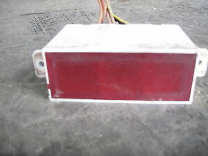 650 750 John Deere 650 750 Indicator Light Panel