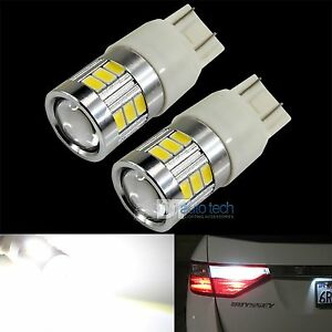 40w 7443 T20 Led 6000k White Reverse Brake Tail Stop High Power Light Bulbs