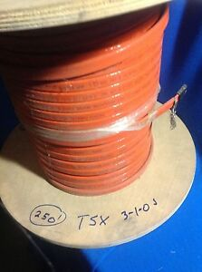 Tsx 3 1 Bnoj Thermon Industrial High Temp Self Limit Heat Cable 250