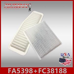 Fa5398 Fc38188 Combo Cf10139 Ca9359 Rav4 Engine And Cabin Air Filter