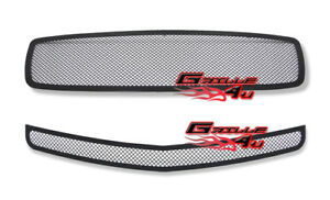 Customized For 05 10 Dodge Charger Black Mesh Premium Grille Combo Insert Fits 2010 Dodge Charger