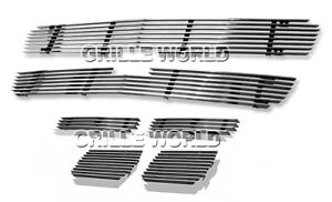For Chevy 03 05 Silverado 1500 03 04 2500 Hd Avalanche Billet Grille Combo