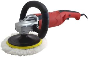 New 7 Electric Variable Speed Car Polisher Buffer Waxer Sander Detail Boat