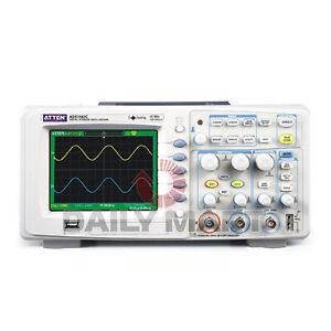 Brand New Atten Ads1042c Digital Oscilloscope 40mhz 2 Channels 500msa s