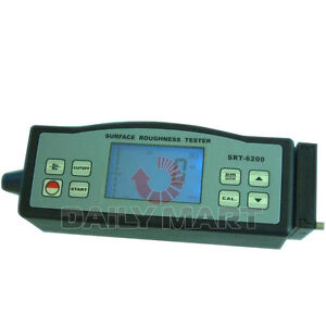 Srt 6200 Digital Portable Surface Roughness Tester Meter New