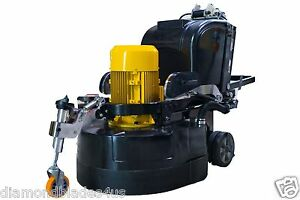 32 Concrete Genie Mammoth Polishing Grinder Floor Prep Machine 15 Hp Resurface