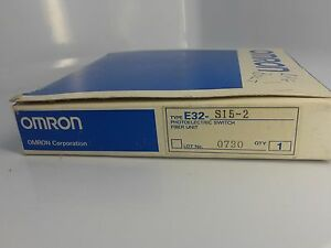Omron Fiber Optics For Luster Sensor E32 s15 2