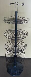 Store Retail Display Round Shelf Rack Fixture dc125