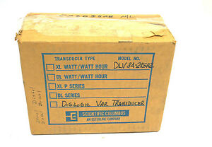 New Scientific Columbus Dlv 34 2k5a2 Transducer Dlv342k5a2