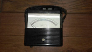 Kilowatt Meter Weston 905 16020 Vintage Test Equipment