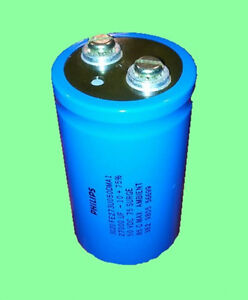 Philips Aluminum Electrolytic Capacitor Screw 27000 f 50v