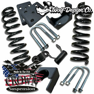 Crown Suspension 2015 2018 Ford F150 3 5 Drop Lowering Coils Flip Kit Shocks