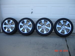 4 Used 17 Factory Toyota Matrix Corolla Chrome Rims Wheels Tires