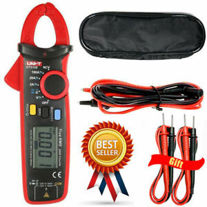 Uni t Ut210e True Rms Ac dc Current Mini Clamp Meters W Capacitance Tester Hot