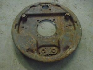 1941 1948 Ford Juice Hydraulic Brakes Backing Plate Rf Slightly Pitted V8 Bare