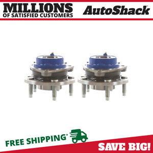 2 New Premium Front Wheel Hub Bearing Assembly Pair Set Fits Left And Right