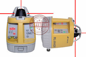 Topcon Rl vh4dr Gc Self leveling Rotary Laser Level Pakcage spectra hilti