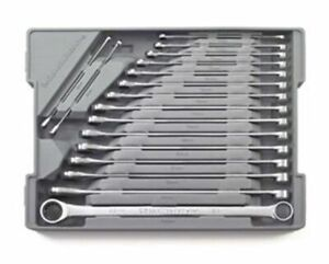 Gearwrench 17 Pc Xl Gearbox Double Box Ratcheting Wrench Set Metric 85989