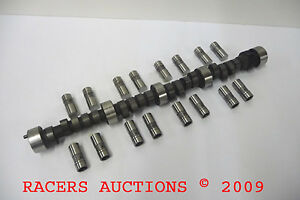 Sbc Chevy 3555 Cam Solid Lifters Kit 9 1 Camshaft Imca 251 248 508 508 Lift