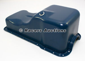 Small Block Ford Oil Pan Front Sump Blue Stock Capacity 289 302 5 0 Sbf Windsor