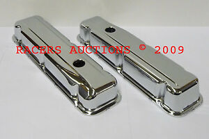 68 81 Buick 350 Chrome Valve Covers Short Height