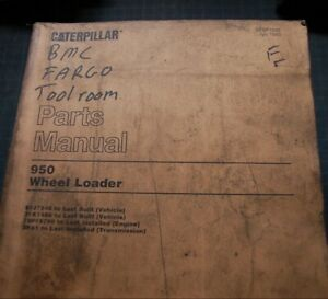 Cat Caterpillar 950 Wheel Loader Parts Manual Catalog Book Front End 1983 Spare