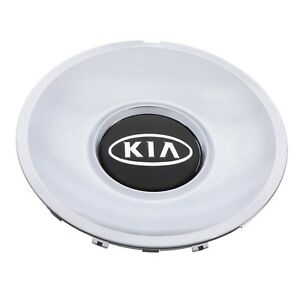 Oem New Wheel Hub Center Cap Chrome W Black Kia Logo 03 06 Optima 52960 3c110