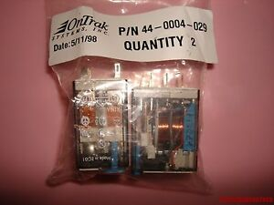 Finder Type 55 32 Relay 10a 250v 24vdc Ontrak 44 004 029 Lot Of 2