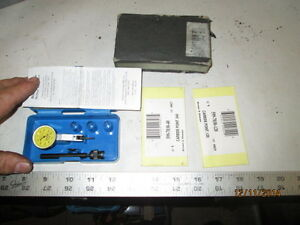 Machinist Mill Lathe Mitutoyo Dial Indicator Gage 513 253 Set In Case