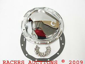 12 Bolt Chrome Plated Differential Cover Kit Chevy 64 72 Camaro Chevelle Nova