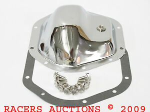 10bolt Chrome Differential Cover Kit Front Rear Dana44 Chevy Ford Ih Dodge Jeep