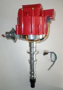 Big Block Chevy 348 409 Red Hei Distributor With 65 000 Volt Coil Free Pigtail