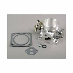 Summit Racing 227202 Throttle Body 75mm Aluminum Polished Ford Mustang 5 0l Each
