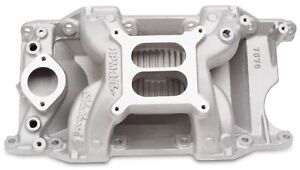 Edelbrock 7576 Performer Rpm Air Gap Chrysler mopar 340 360 Intake Manifold