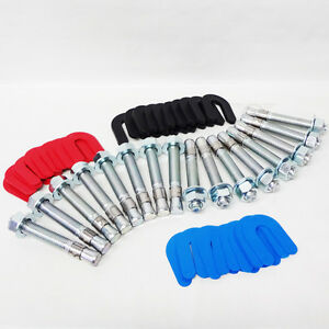Auto Car Lift Installation Install Kit 16 Wedge Anchor Bolts 30 Pack Shim Kit