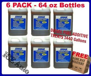6 Pack Case Of 64oz Stanadyne 38566 Performance Formula Diesel Fuel Additive