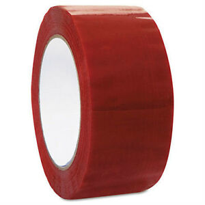 2 x110 Yards Red Color Packing Sealing Packaging Tape 2 x110 Yards 36 case