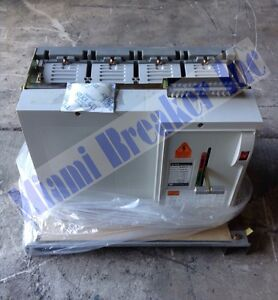 Xbf3321 Miami Breaker 3 Pole 3200 Amp 600 Volt Transfer Switch