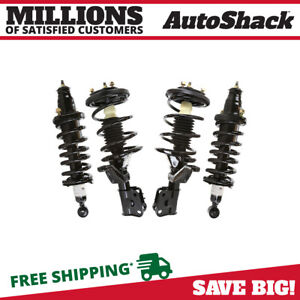 Front And Rear Complete Struts For 2001 2002 2003 2004 2005 Honda Civic