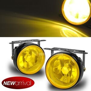 For Forester 3 5 Round Yellow Bumper Driving Fog Light Lamp Switch